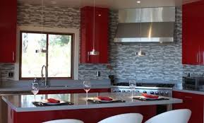 papier peint cuisine papier peint cuisine moderne vue table manger at idees de