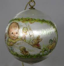 1976 hallmark baby u0027s first christmas ornament keepsake