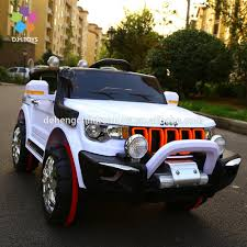 electric jeep 2017 4 wheel electric car toy for children 4 seater electric