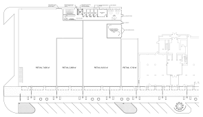 Retail Floor Plans by Jefferson Tower