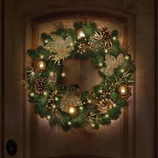 lighted christmas wreaths for windows chic inspiration lighted christmas wreath wreaths for windows with