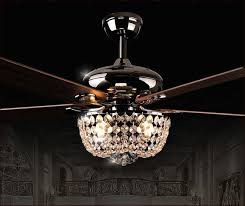 Chandelier Ceiling Fans With Lights Chandelier Ceiling Fan Combo Hupehome Within Plans 5