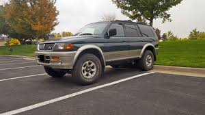 lifted mitsubishi montero 1999 montero sport limited 3 5l crawler build 4x4wire trailtalk