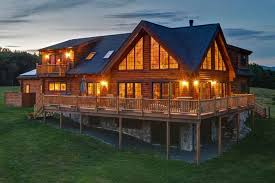 leed certified home plans designer series alta log homes