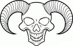 easy skull drawings cherylbgood co