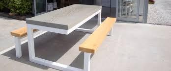Concrete Patio Table Outdoor Furniture Concrete Outdoor Goods