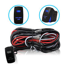 Led Light Bar Wiring Harness by Liteway One To Two Universal Led Light Bar Wiring Harness Kits 24v