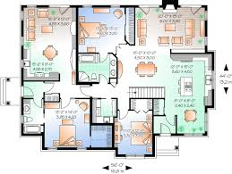 house plans with inlaw apartments 2 bedroom with in apartment house plan hunters