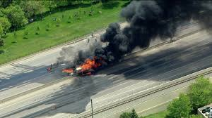 Fires Near Denver Map by Massive Tanker Fire Shuts Down I 25 In Both Directions Near Denver