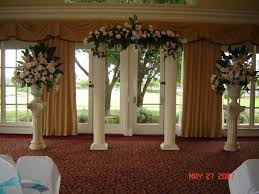 wedding backdrop ideas with columns column for wedding decorations wedding corners