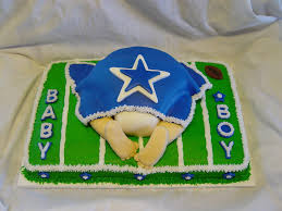 dallas cowboys baby shower cakecentral com