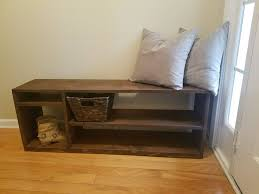 Solid Wood Entryway Storage Bench 14 Best Farmhouse Entryway Tables And Benches Handmade Solid