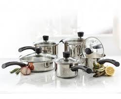 batteries de cuisine batterie de cuisine remy olivier matera 10 articles magasins stokes