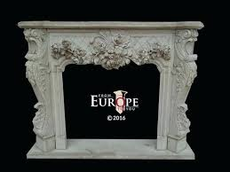 French Country Fireplace - french country style fireplace mantels living room limestone