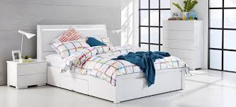 Cheap Bed Frames Chicago Chicago White Gloss Bedroom Furniture Suite With Multi Coloured