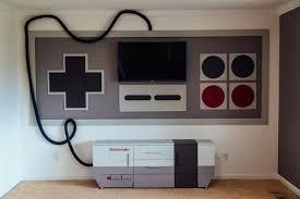 custom nes game room nintendo entertainment sanctuary technabob