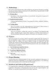 hardware design proposal format