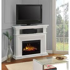 Dimplex Fireplace Media Console Amazon Com Dimplex Colleen Corner Tv Stand With Electric