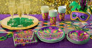 mardi gras decorations ideas mardi gras party favors beautiful ptale and glss tableware best