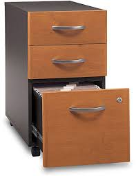 Drawer Pedestal Bush Wc72453 Three Drawer Pedestal File Cabinet Corsa Series