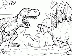 tyrannosaurus rex coloring pages dinosaur kids colorine net
