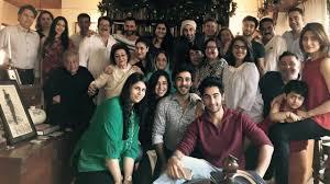 kapoor family gets together for dinner