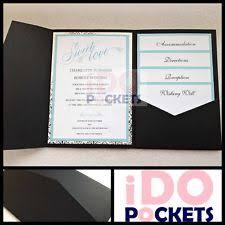 diy pocket invitations diy invitation pocket ebay
