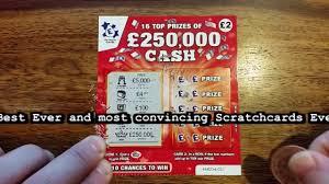 best scratch cards wins 250 000 is it a joke prank winning lottery