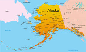 Where Is Alaska On A Map by Where Is Alaska Located On The Map Inside On World Map