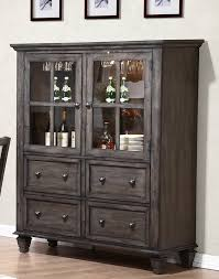 Display Dishes In China Cabinet Rustic Display Cabinets You U0027ll Love Wayfair