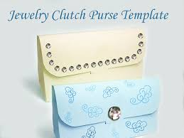 template printable clutch purse gift bag from splendere on etsy