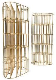 Gold Bookshelves by Carlo Scarpa Carlo Scarpa Masterpieces Pinterest