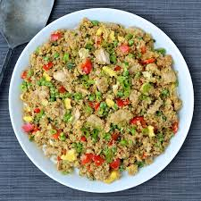 quinoa cuisine dining with the doc quinoa fried rice with tuna the foodie