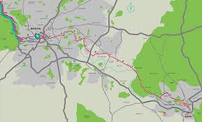 Marathon Route Map by The Run Bristol Bath Marathon
