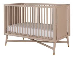 Modern Convertible Crib Dwellstudio Mid Century 3 In 1 Convertible Crib Grey