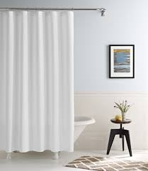 real simple linear curtain panels and shower curtains real
