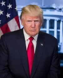 this is president trump u0027s official portrait