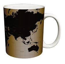 Diy World Map by Aliexpress Com Buy Diy World Map Coffee Mugs Black Cold