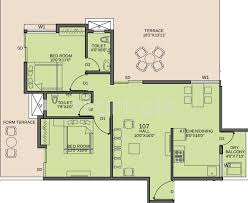 Icon Floor Plan Abhiman Blithe Icon In Wagholi Pune Price Location Map Floor