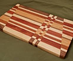 scrap wood cutting board with pictures
