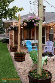 outdoor decor best 25 outdoor decor ideas on back yard outdoor