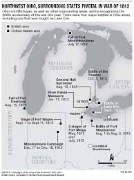 Map Of Northwest Ohio by Region Looks Back On Strife Of War Fought 200 Years Ago The Blade