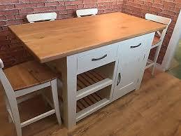 handmade kitchen island solid oak top breakfast bar bar