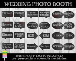 diy wedding photo booth printable wedding speech bubbleswedding photobooth propsdiy
