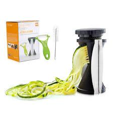 amazon com cool shop vegetable spiralizer bundle spiral slicer
