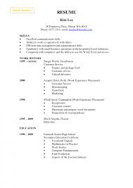 Resume Skills List Example by Cashierserver Resume Samples Retail Cover Letter Example