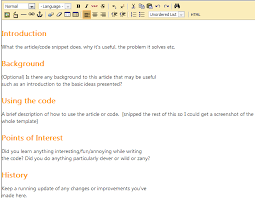 a guide to writing articles for code project codeproject