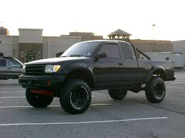 1999 tacoma light bar black lifted 1999 toyota tacoma with roll bar and bfg mud terrains