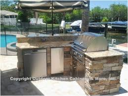 outdoor kitchen cabinet plans beautiful outdoor kitchen diy taste