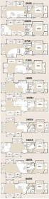 Open Range Travel Trailer Floor Plans by Best 5th Wheel Floor Plans Fifth Wheel Floorplans Camping